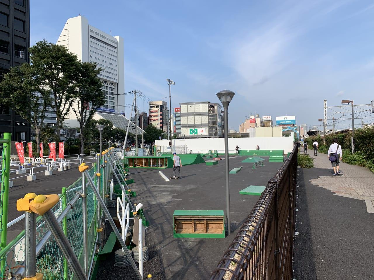中野スケートボードパーク
