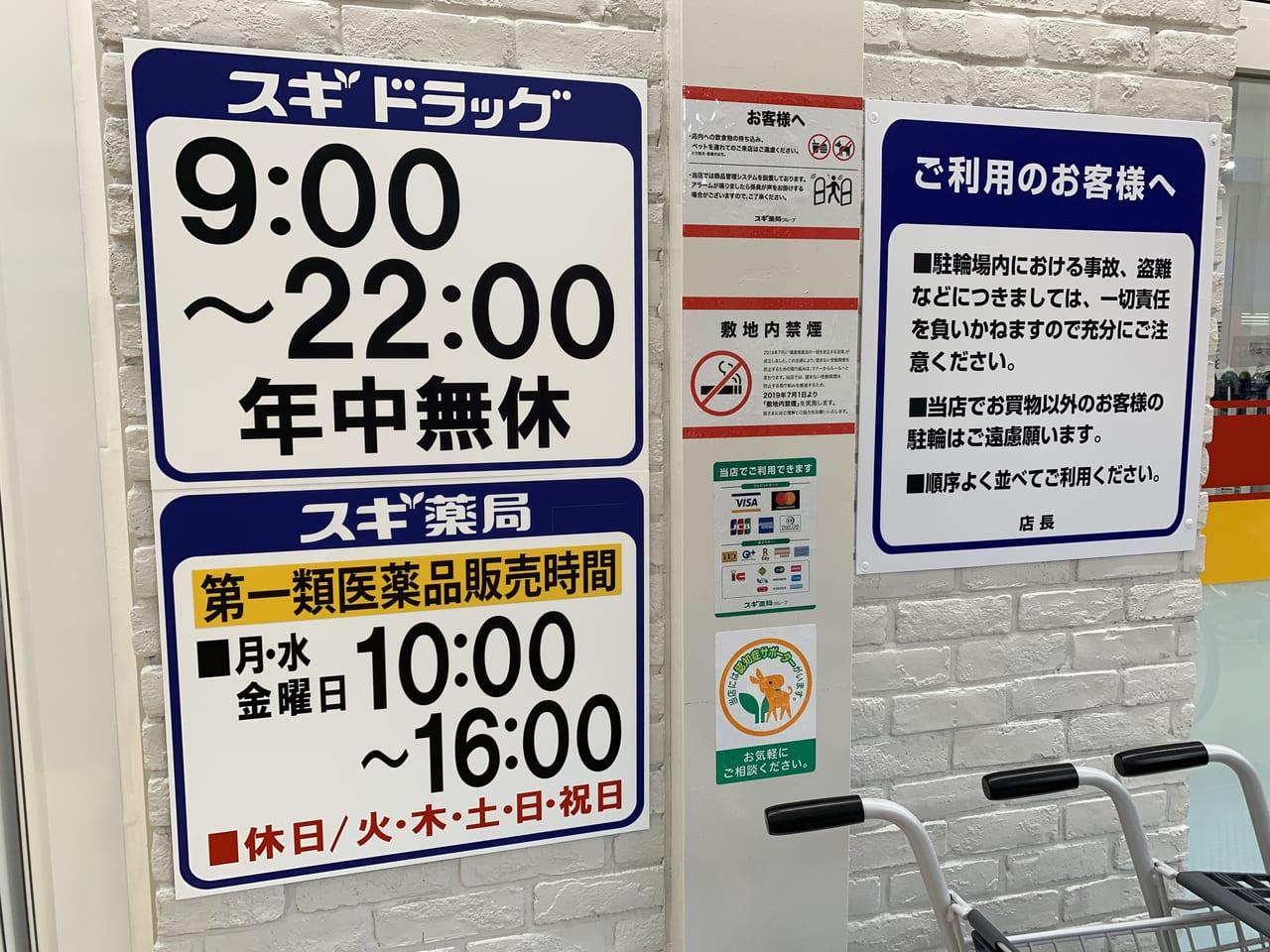 スギ薬局中野駅北店