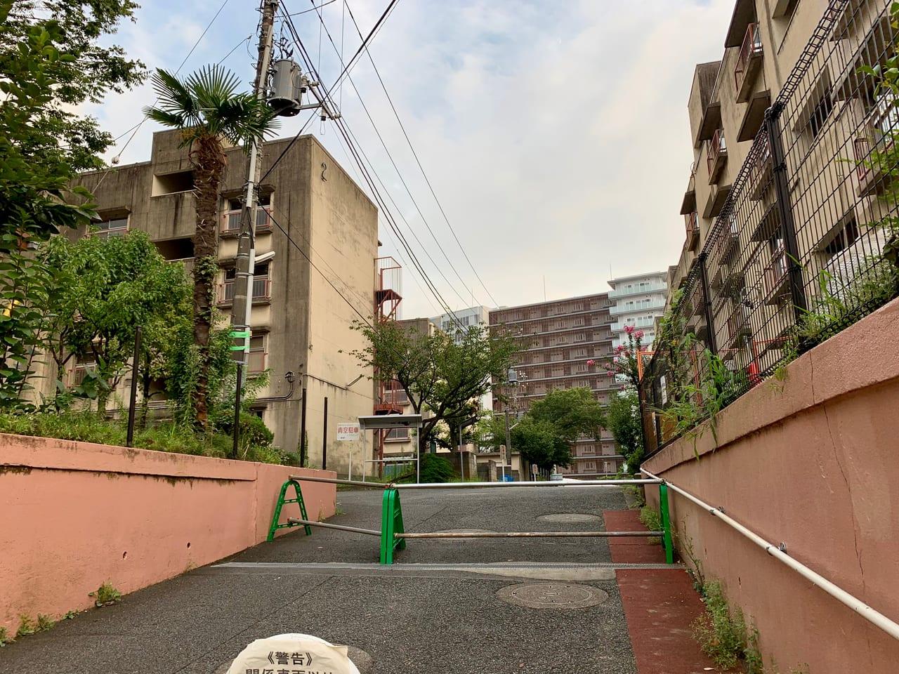 中野住宅解体