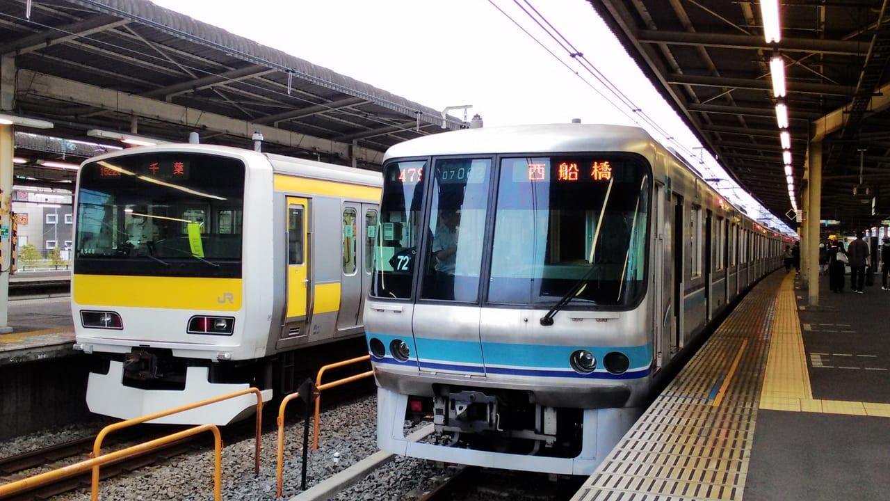 JR中央・総武線遅延